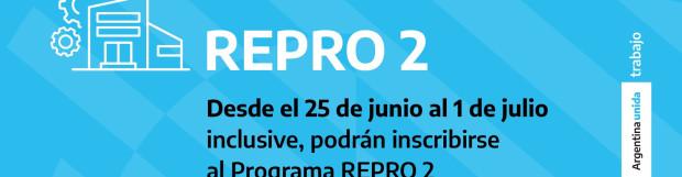 Se abre la inscripción para el REPRO 2 del mes de junio